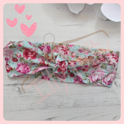 3 Piece Set vintage floral Set - Headband