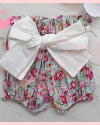 3 Piece Set vintage floral Set Shorts