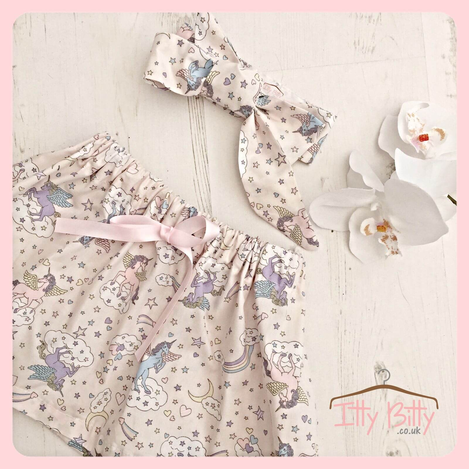 Little Girls Bespoke-2-Piece-Unicorn-Set