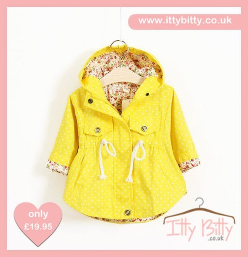 Itty Bitty Yellow Summer Jacket