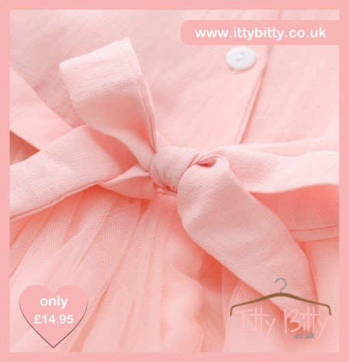 Itty Bitty Pink Double Rose Dress
