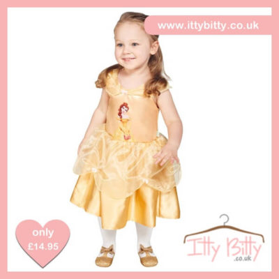 Itty Bitty Disney Belle Baby Costume