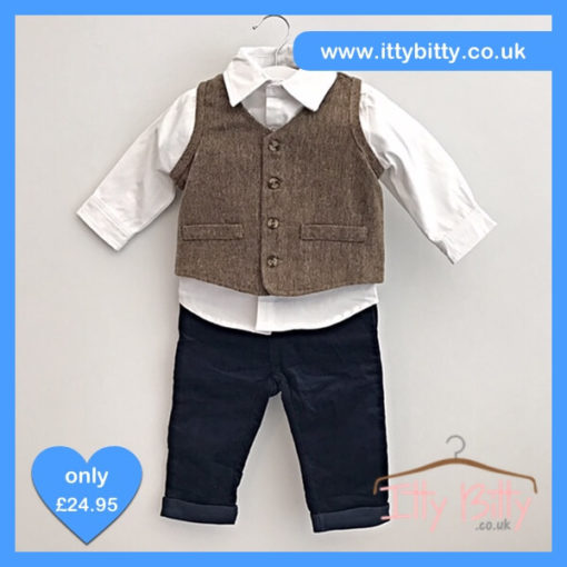 Itty Bitty 3 Piece Little Gentleman Set