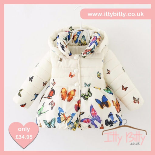 Itty Bitty VIP Winter Snowflake Butterfly Coat