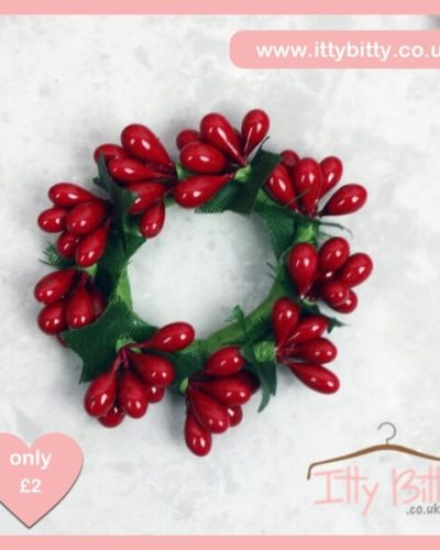 Itty Bitty Christmas Mini Wreath