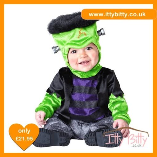 Itty Bitty Halloween Frankenstein Monster Costume