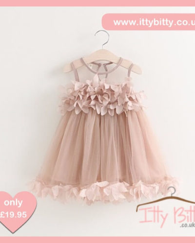 Itty Bitty Princess Petal Party Dress