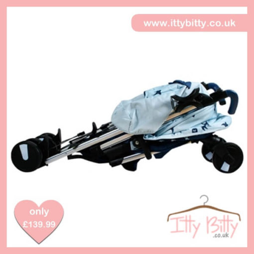 Believe by Katie Piper My Babiie MB51 Blue Swallows Pushchair