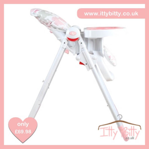 Believe by Katie Piper Premium Pink Butterflies Highchair