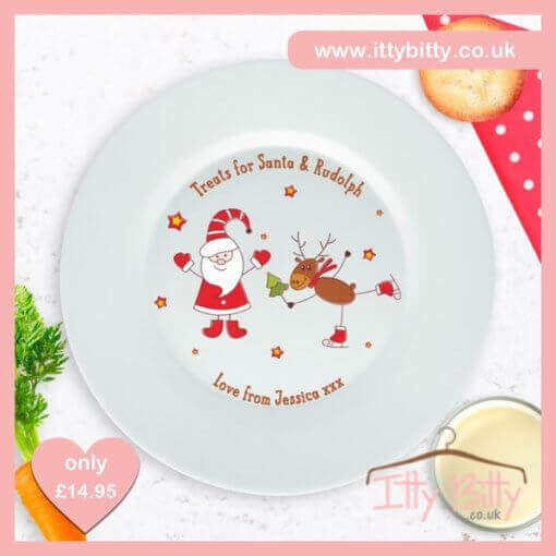 Itty Bitty Personalised Christmas Mince Pie Plate