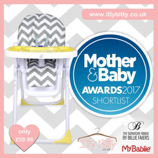 Billie Faiers MBHC8ZZ Chevron Premium Highchair