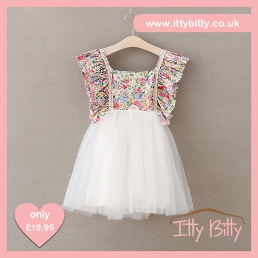 Itty Bitty 2017 Spring Floral Dress