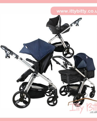 Billie Faiers My Babiie MB150BD Denim Pram