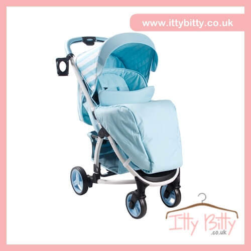 billie faiers my babiie mb100 blue stripes pushchair. Black Bedroom Furniture Sets. Home Design Ideas
