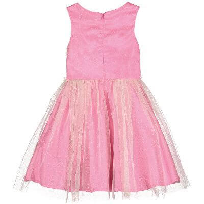 Disney Boutique Aurora princess Pink Dress with Ruffled Bodice
