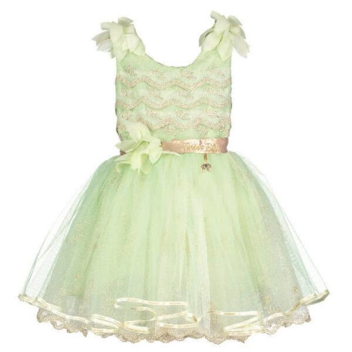 Disney Boutique Tinker Bell Mint Green Nets and Vintage Lace