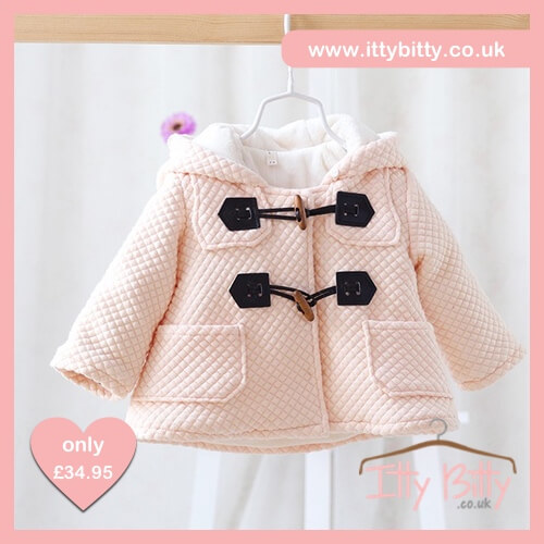 Itty Bitty VIP Thermal Fleece Baby Coat Pink Edition