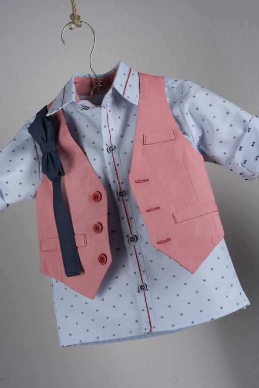 Boys Boutique Red Waistcoat