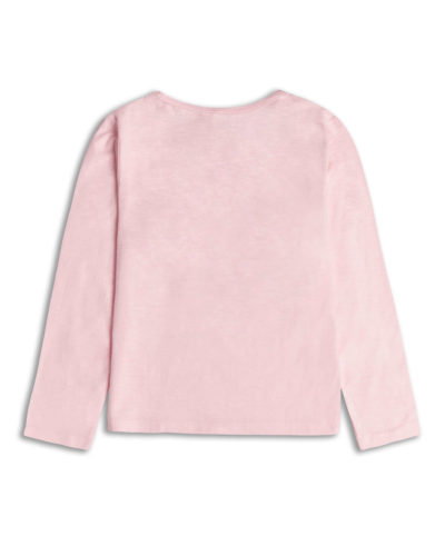 Itty Bitty Team Mummy Pink Long Sleeve Top