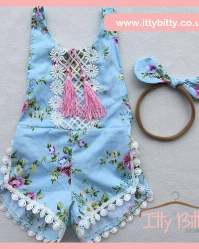 Itty Bitty Morgan Summer Romper