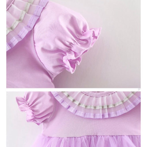 FRILLY PURPLE SET