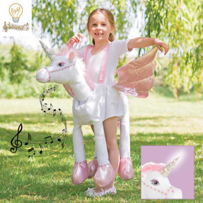 Itty Bitty Magical Unicorn Ride-on Light & Sound Costume