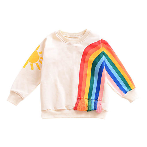 Itty Bitty Rainbow Tassel Jumper