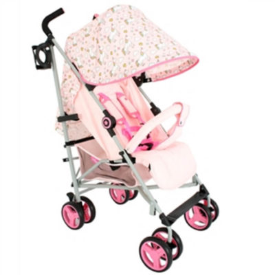 My BabiieMB02 Pink Unicorns Stroller Pushchair Buggy