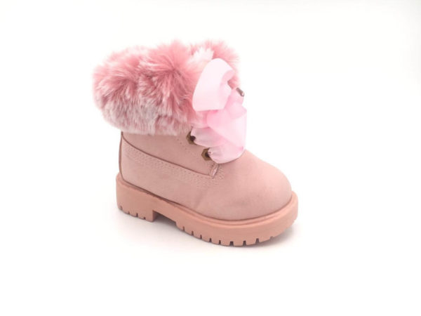 Itty Bitty Limited Edition Pink Winter Fur Boots