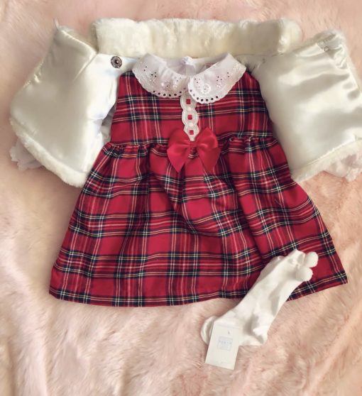 Itty Bitty Christmas Dress Set