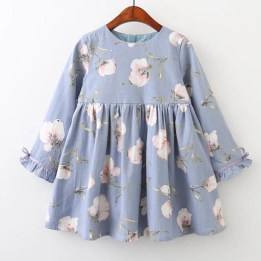 Itty Bitty Blue Floral Dress