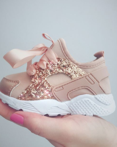 Rose Gold Itty Bitty Sparkle Glitter Runners