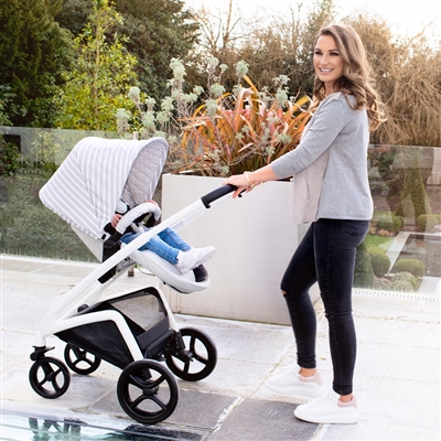 My Babiie Dreamiie by Samantha Faiers MB300 Grey Stripes Pushchair