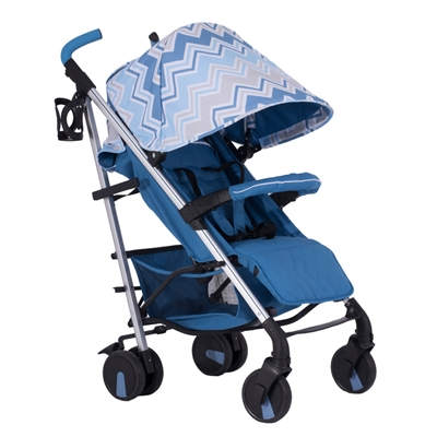 My Babiie Dreamiie by Samantha Faiers MB51 Blue Chevron Pushchair Stroller