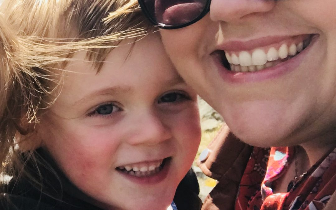 Lois Bates with her Advice to New Mums….