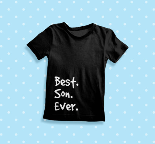 Itty Bitty Best Son Ever T Shirt