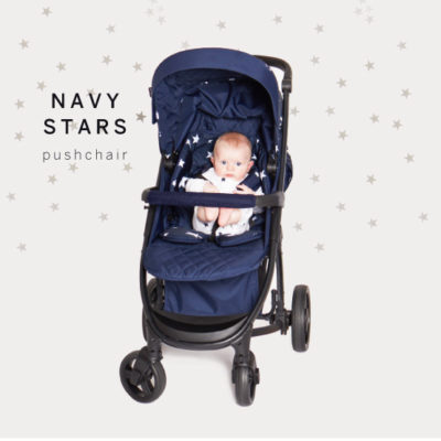 Abbey Clancy Catwalk Collection MB200 Navy Stars Pushchair