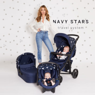 Abbey Clancy Catwalk Collection MB200 Navy Stars Travel System