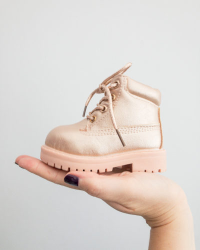 Itty Bitty Limited Edition Rose Gold Boots