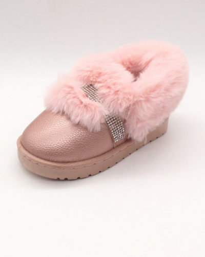 Itty Bitty Pink Diamante Super Snuggle Boots