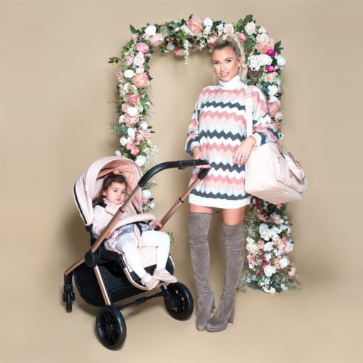 Billie Faiers MB400 Rose Gold Blush Pushchair