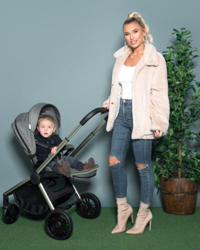Billie Faiers MB400 Bronze and Sage Melange Pushchair