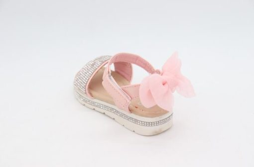 Darcie Diamante Pink Bow Sandals