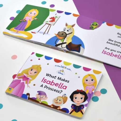 Disney Personalised What Makes me a Princess Board Book