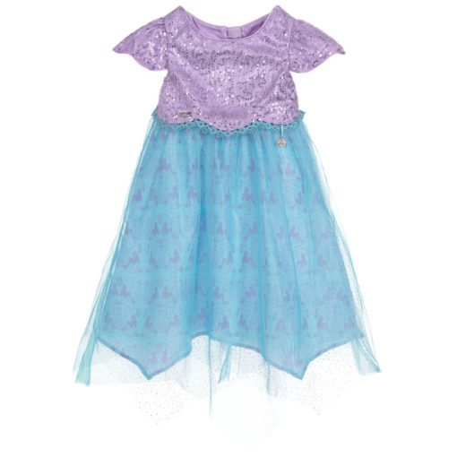 Disney Boutique Ariel Mermaid Princess Shimmer Dress