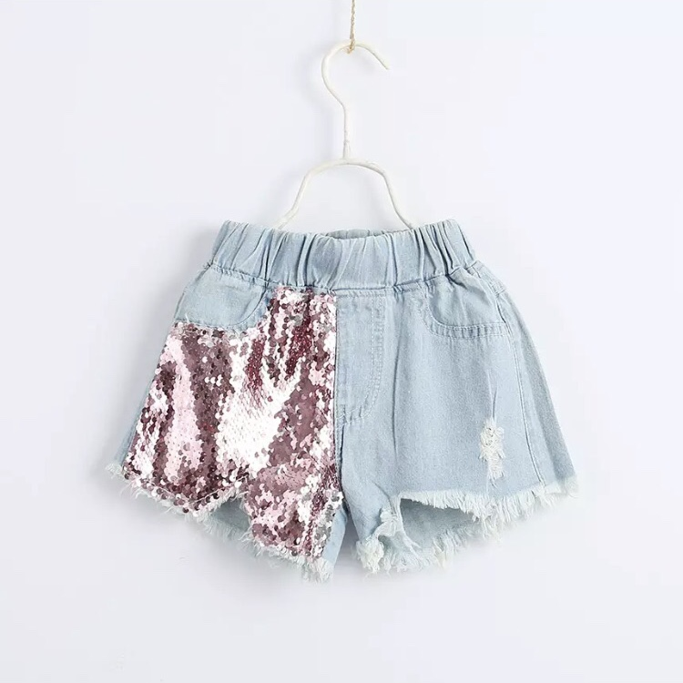 71fffe7943 Itty Bitty Pink/Silver Sequin shorts – Baby Boutique Clothing