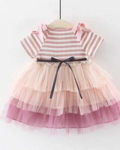 Itty Bitty Stripe Tutu Princess Dress