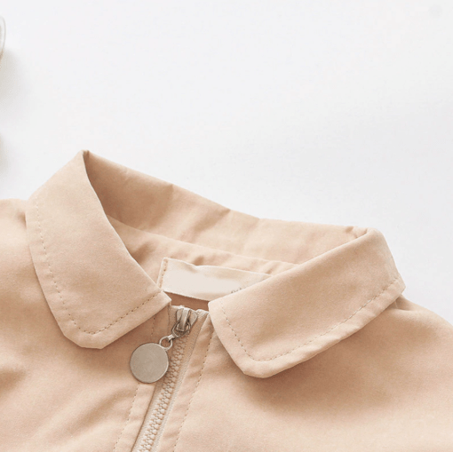 Itty Bitty Autumn Bow Baby Girls Jacket