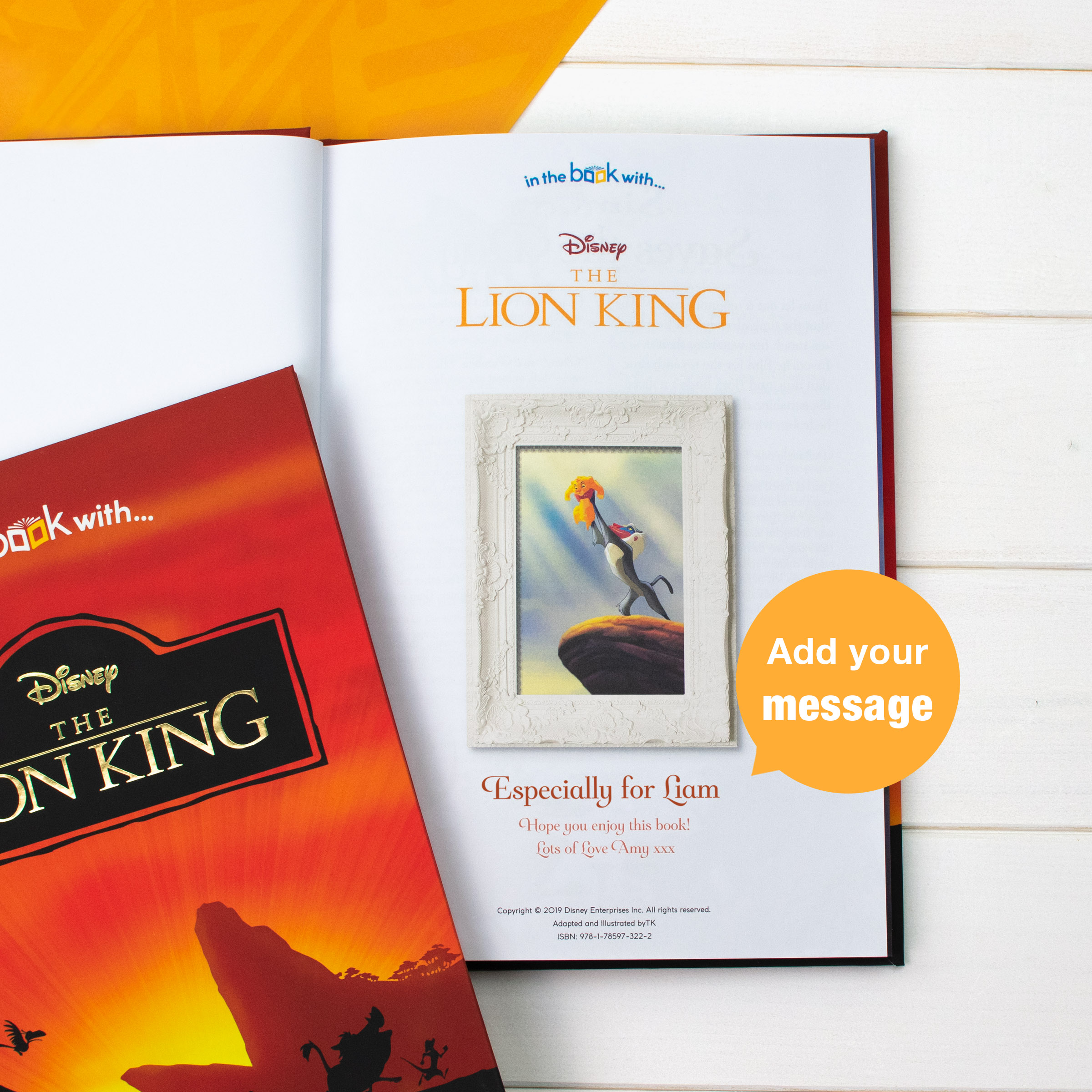 The Lion King Personalised Book Baby Boutique