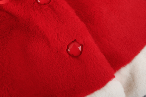 Itty Bitty Red Christmas Coat